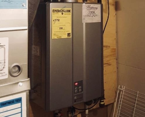 replace tankless water heater