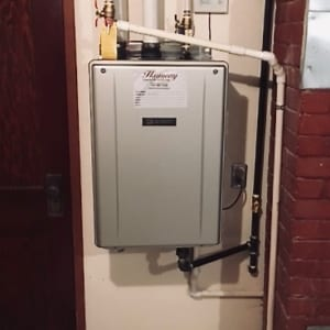 on demand water heater replacement