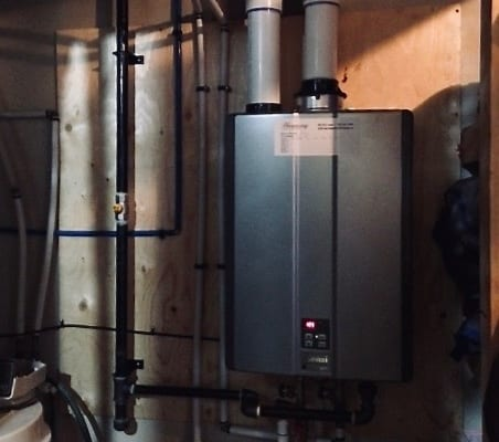tankless water heater calgary