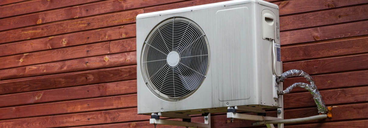 clean outdoor AC